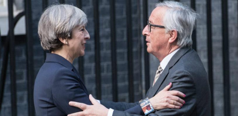 """May i Juncker imali """"robusnu"""" razmjenu mišljenja na samitu u Briselu"""