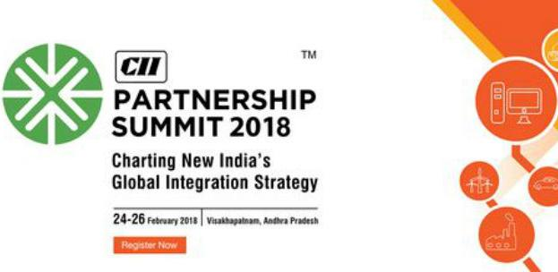 """Partnership Summit 2018"" Visakhapatnam, Indija"