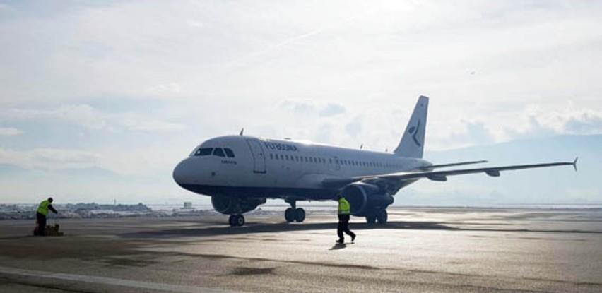 Broj putnika na bh. aerodromima smanjen za 70 posto