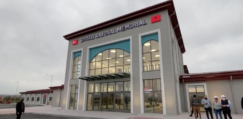 Albanija kao primjer drugima: Moderna bolnica izgrađena za tri mjeseca
