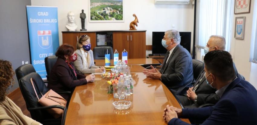 Veleposlanica Toudic želi dovesti francuske firme u Široki Brijeg