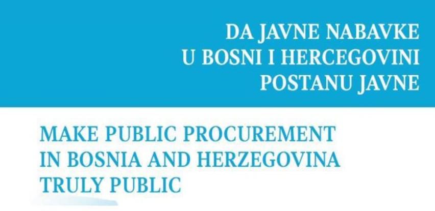 Sistem javnih nabavki u BiH obesmišljen, svi smo žrtve takvog stanja