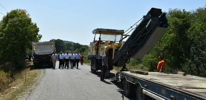 Nastavlja se rekonstrukcija regionalnih putnih pravaca u TK