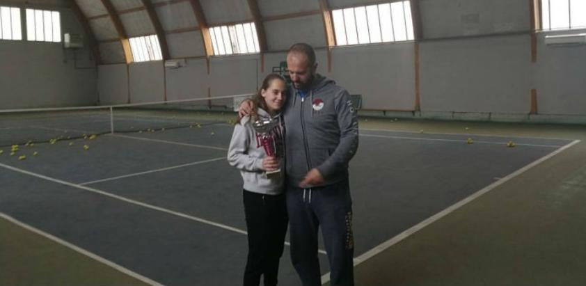 Amila Jusufbegović - zvijezda u usponu bh. tenisa
