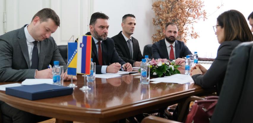 Slovenija među prvih deset spoljnotrgovinskih partnera BiH interes i za turizam