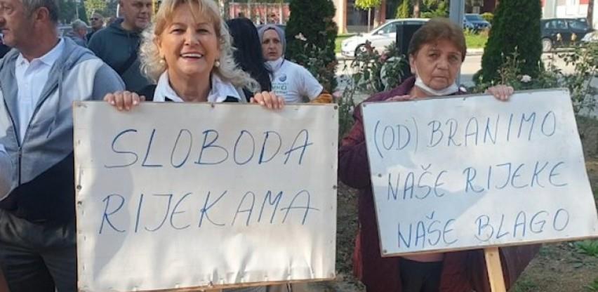 Mještani Kruščice na javnoj raspravi ponovili: Ne želimo mini hidroelektrane