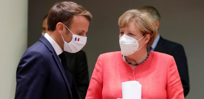 Merkel i Macron traže bolju kontrolu ulaska u šengensko područje