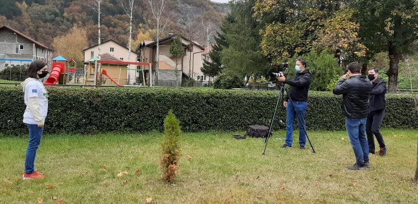 """Jablanica: Mladi eko aktivisti u projektu """"Zajednički napori za 5% manje otpada"""""""
