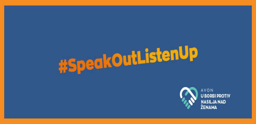 Avon pomaže ženama u borbi protiv nasilja #SpeakOutListenUp