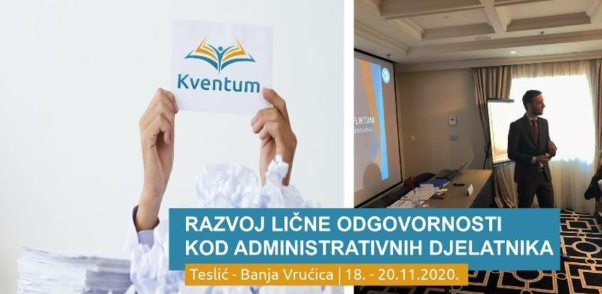 Razvoj lične odgovornosti kod administrativnih djelatnika