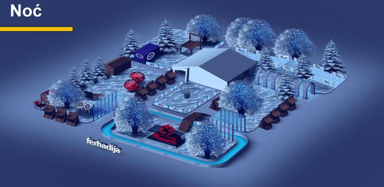 """Prezentiran projekt """"Ice Garden"""": Trg oslobođenja postaje mjesto najbolje zabave"""