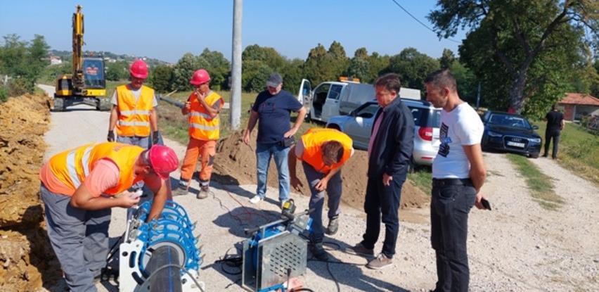 Gradačac: Početak radova na izgradnji vodovoda za područje mjesne zajednice Rajska