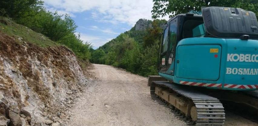 Započeli radovi na saobraćajnici prema vodopadu Skakavac