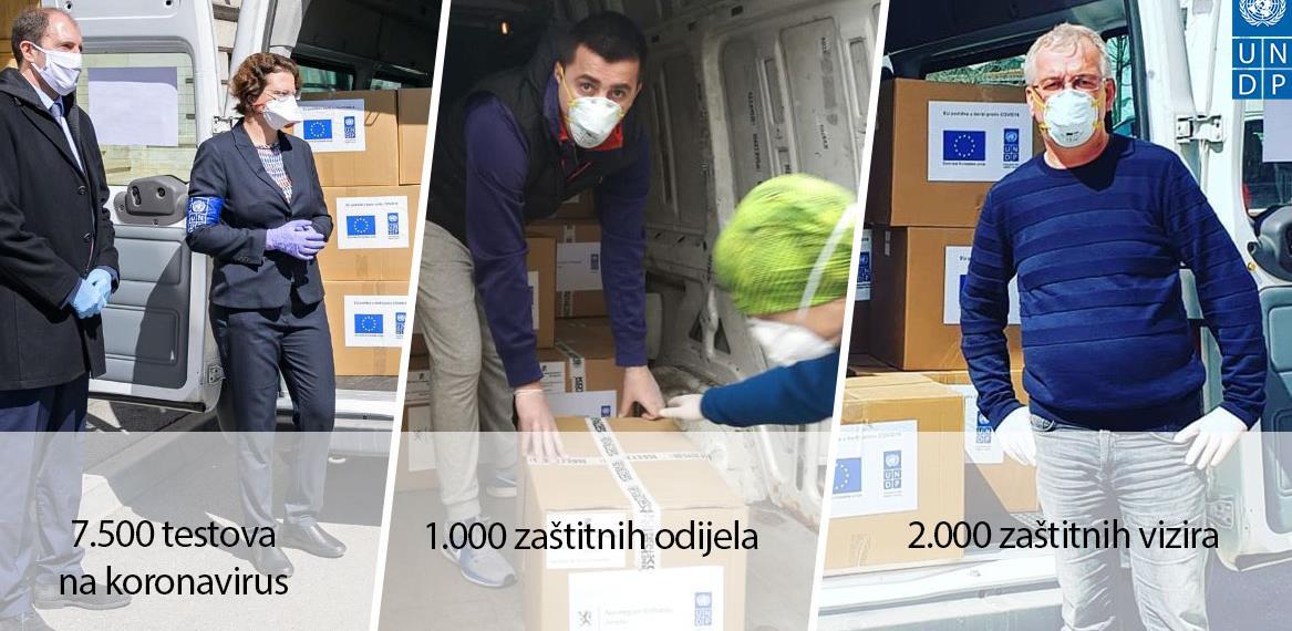 Podrška bh. privredi: Krizni štab HNK dobio zaštitna odijela proizvedena u BiH