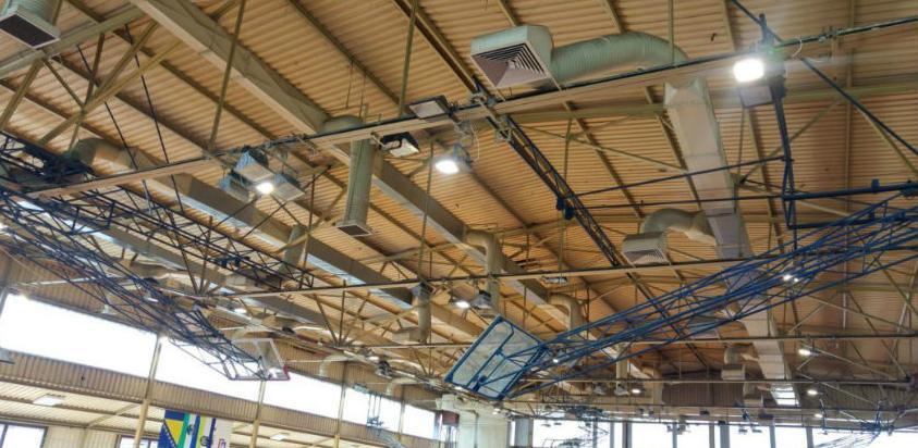 Dvorana Luke u Bihaću dobila novu LED rasvjetu