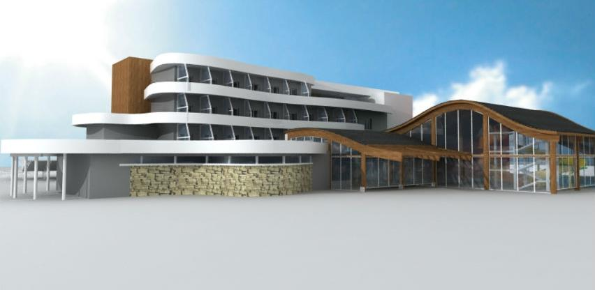 Uskoro završetak prve faze izgradnje kompleksa Terme Ozren