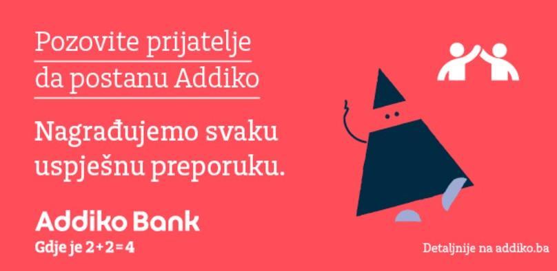 """Dobar savjet zlata vrijedi: Nova Addiko kampanja i program """"Pozovite prijatelje"""""""