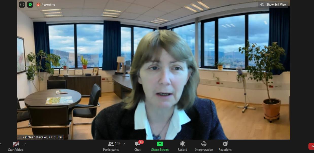 Misija OSCE: Izvještaj o odgovoru na krizu uzrokovanu pandemijom COVID-19