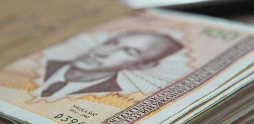 Vlast najavljuje rast prosječne plate na 1.000 KM