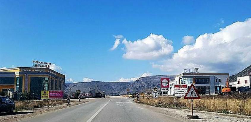 Gradi se nova prometnica i dva kružna toka na južnom ulazu u Mostar