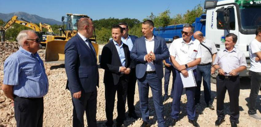 Trebinje spaja puteve za Dubrovnik i Mostar: Počela izgradnja zapadne obilaznice