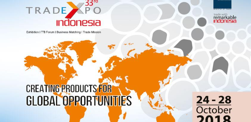 33. Trade Expo Indonesia 2018