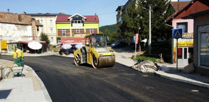 Euroasfalt privodi kraju radove u centru Goražda