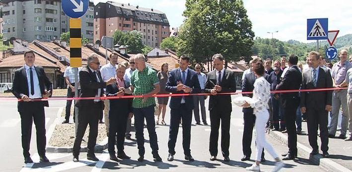 U centru Banovića otvorena obnovljena raskrsnica regionalnih cesta