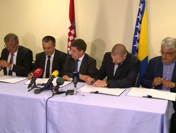 U Neumu potpisan Ugovor o izgradnji mosta na rijeci Savi kod Svilaja