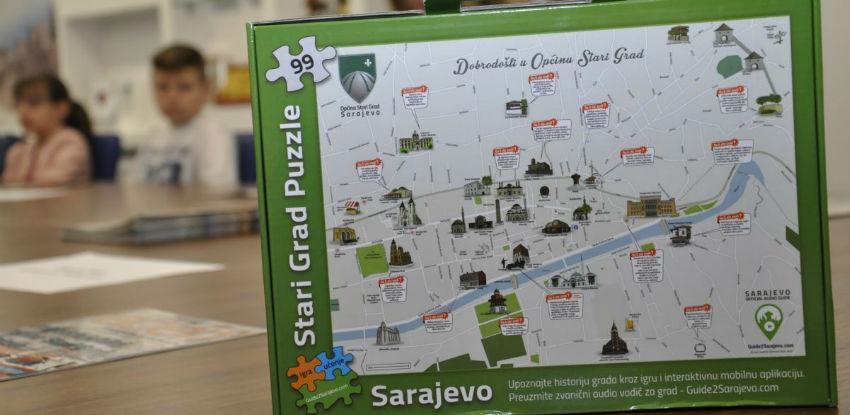 Dostupne puzzle koje oslikavaju mapu Starog Grada Sarajeva