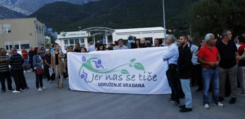 Novo prosvjedno okupljanje na lokalitetu deponija Uborak