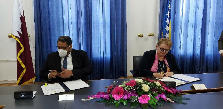 Ministrica Turković i Sultan Al-Khater razmijenili instrumente ratifikacije