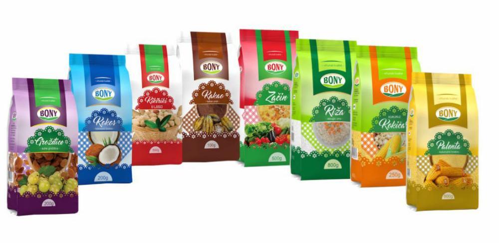 Hoše komerc na tržište plasirao redizajnirana pakovanja branda Bony