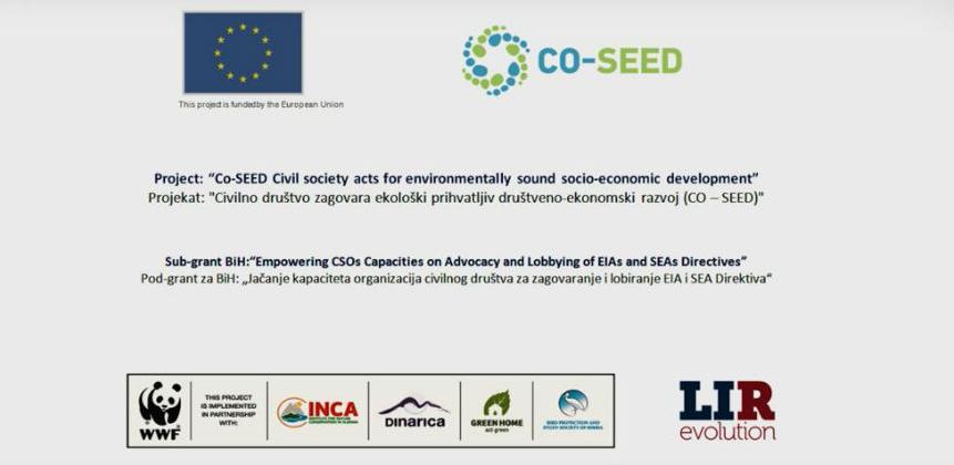 Projekat CoSEED - zagovara ekološki prihvatljiv društveno-ekonomski razvoj