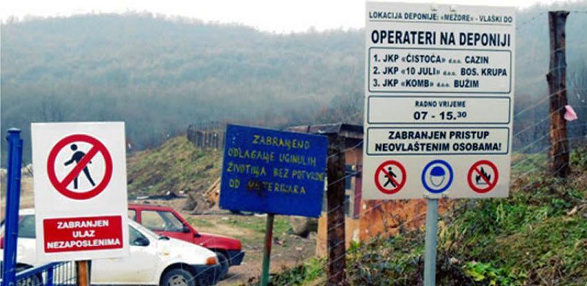 Za izgradnju Centra za upravljanje otpadom u Bosanskoj Krupi 54 hiljade KM