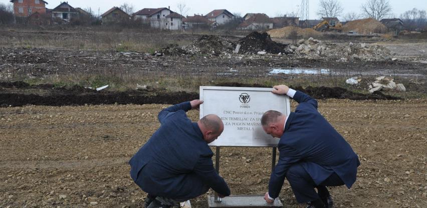 Položen kamen temeljac za novi proizvodni pogon u Prijedoru