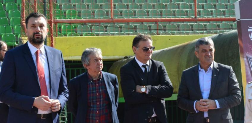 Konaković: Milion KM za obnovu stadiona Asim Ferhatović Hase i Grbavica