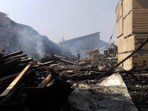 Na požarištu tvornice Krivaja u Zavidovićima traje uviđaj