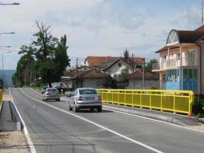 Novi most u Zalužanima probno pušten u saobraćaj