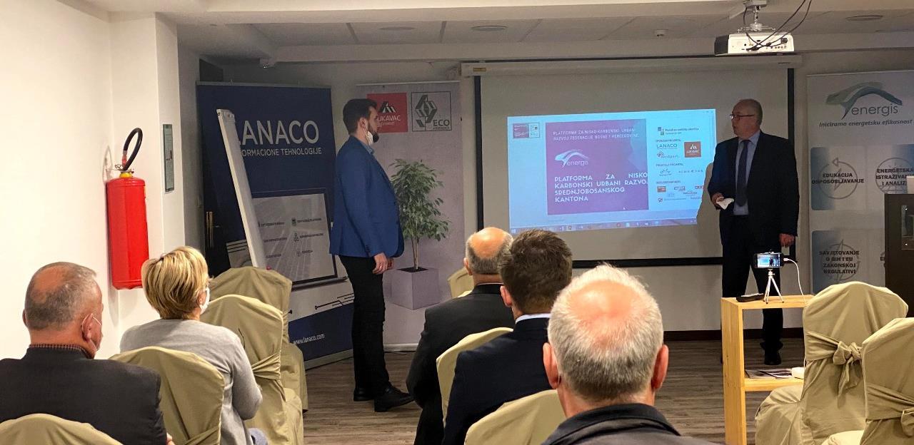 "Održana ""Platforma za nisko-karbonski urbani razvoj Srednjobosanskog kantona"""