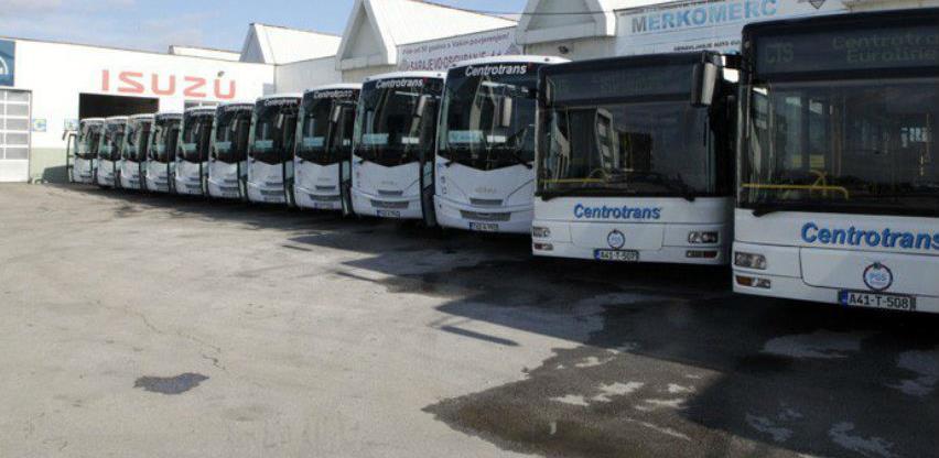Centrotrans počeo saobraćati na prigradskim i međugradskim linijama u BiH
