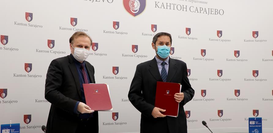 42,5 miliona KM za privrednike u Kantonu Sarajevo