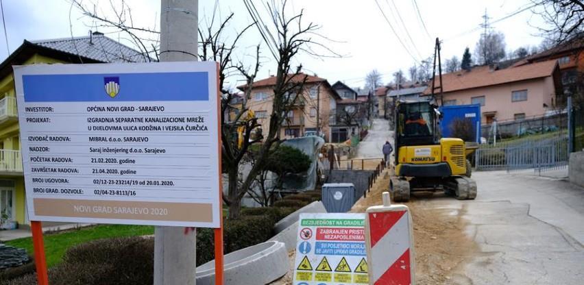 Odabran izvođač za izgradnju separatne kanalizacione mreže u ulici Vejsila Čurčića i Kodžina