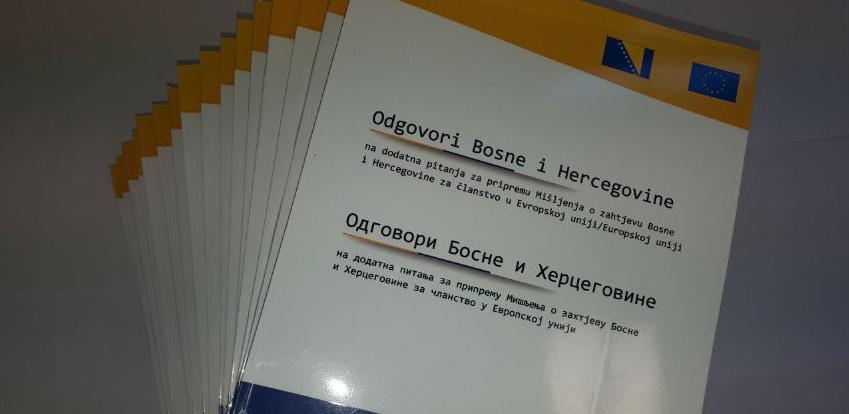 BiH ipak nije odgovorila na više od 20 pitanja Evropske komisije?