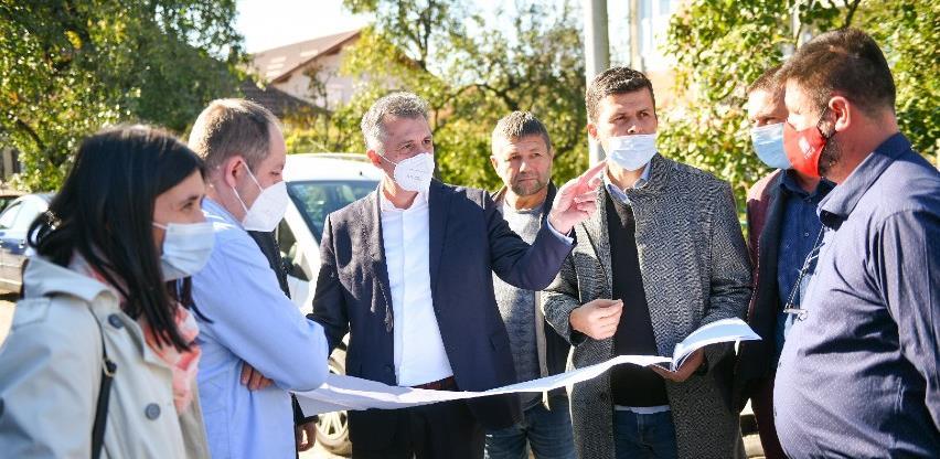 Voda 2: Počela izgradnja kanalizacije u dvije ulice u naselju Vrbanja