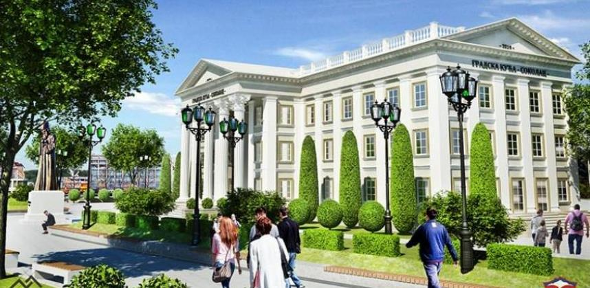 Sokolac planira graditi Gradsku kuću vrijednu pet miliona KM