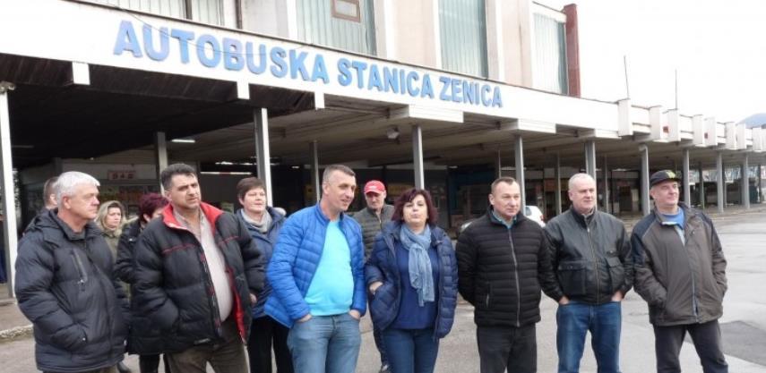 Radnici nakon 43 dana deblokirali Autobusku stanicu Zenica