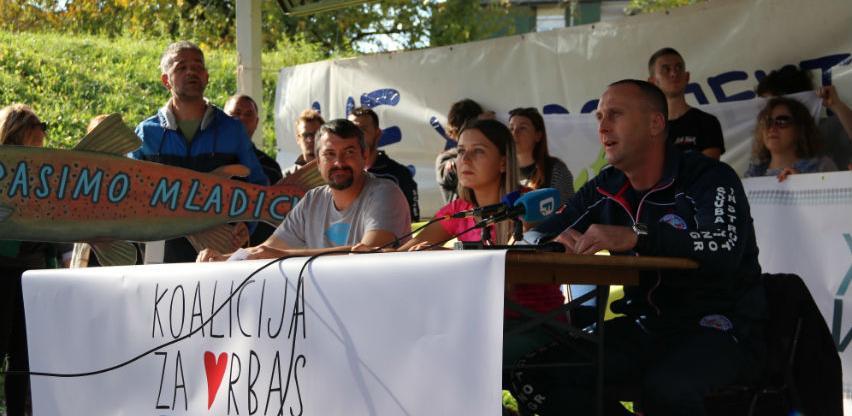 Ekolozi protiv hidroelektrane na Vrbasu