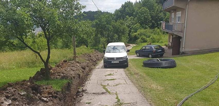 """Počela druga faza izgradnje vodovodnog sistema """"Podbriježje"""" u Zenici"""