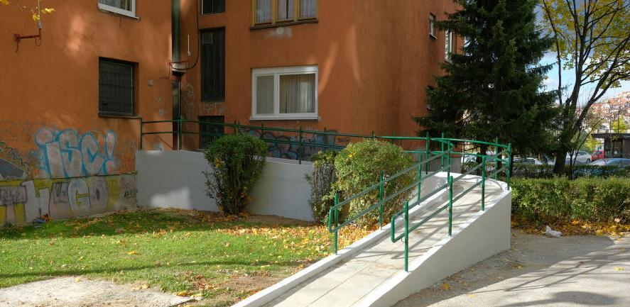 Nove pristupne rampe za osobe sa invaliditetom u novogradskim naseljima